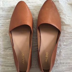 ALDO Women's tan D'orsay flats US Size 7